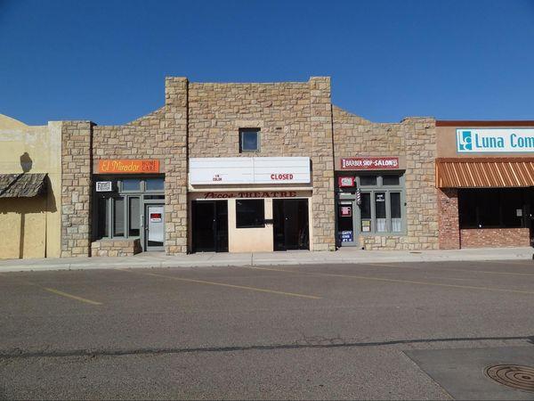 Pecos Theatre Santa Rosa Route 66 Nouveau-Mexique