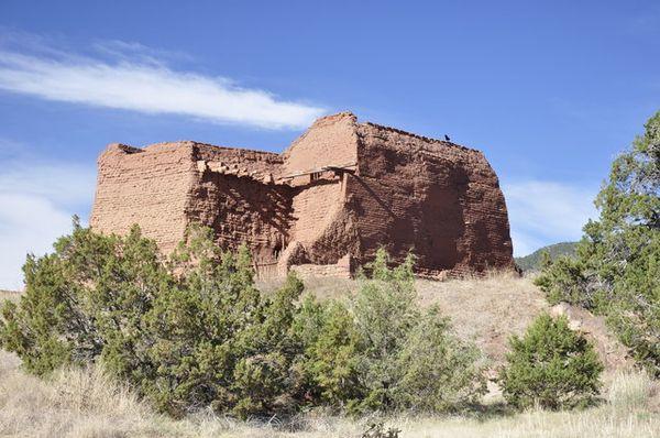 Pecos Pueblo Pecos National Historic Park Route 66 Nouveau-Mexique