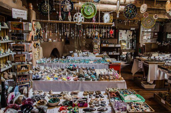Musée boutique Los Cerrillos Turquoise Trail Nouveau-Mexique