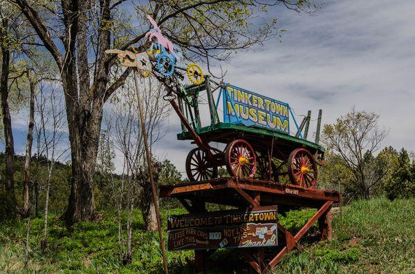 Tinkertown Museum Turquoise Trail Nouveau-Mexique