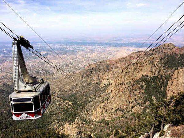 Téléphérique Sandia Mountains Nouveau-Mexique
