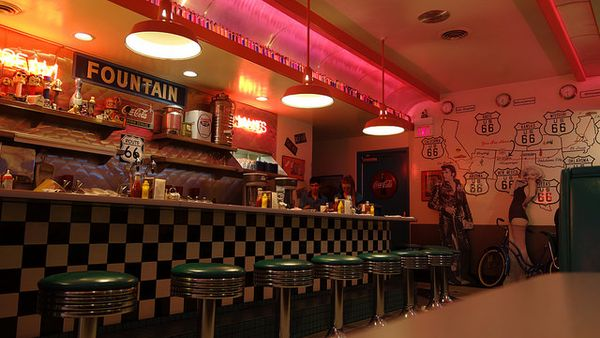 66 Diner Albuquerque Nouveau-Mexique