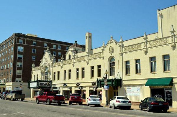 Coleman Theatre Miami Oklahoma Route 66