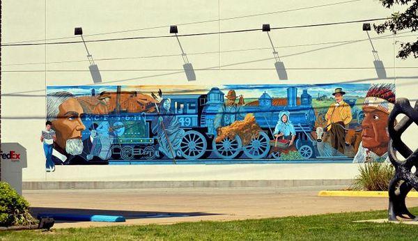Mural Nick Calcagno Miami Oklahoma Route 66