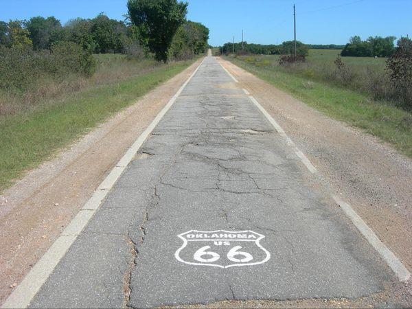 The Ribbon Road Oklahoma Route 66