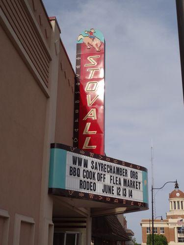 Stovall Theatre Sayre Oklahoma