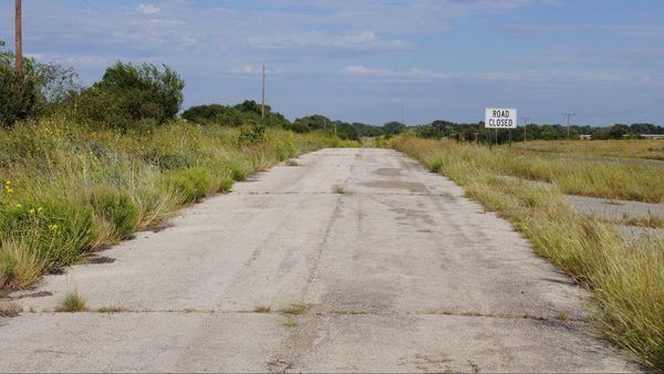 Route 66 section abandonnée Oklahoma