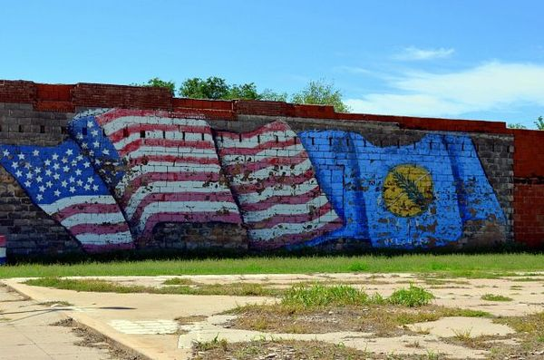 Mural Erick Route 66 Oklahoma