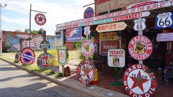 Erick Oklahoma Route 66
