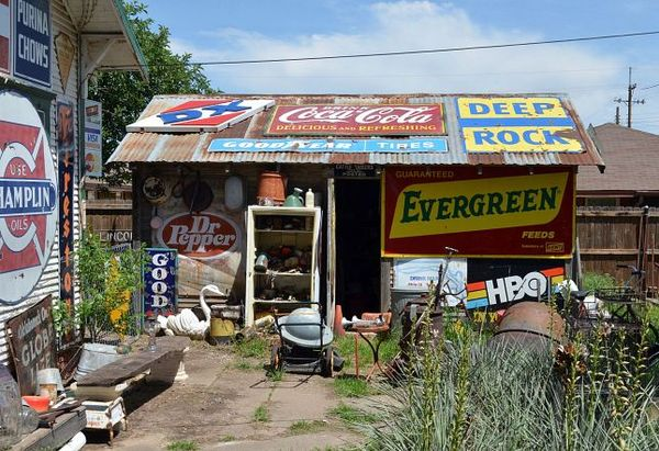The redneck capitol of the world Erick Route 66 Oklahoma