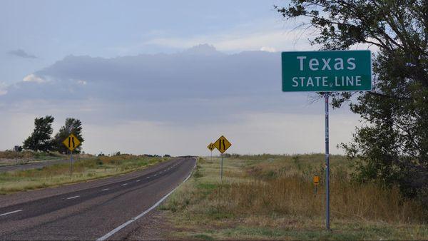 Texas State line Oklahoma Route 66