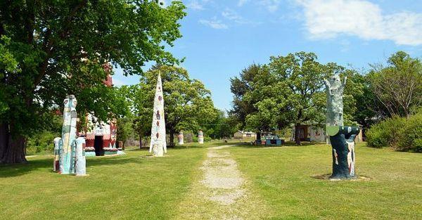Ed Galloway's Totem Pole Park Oklahoma Route 66