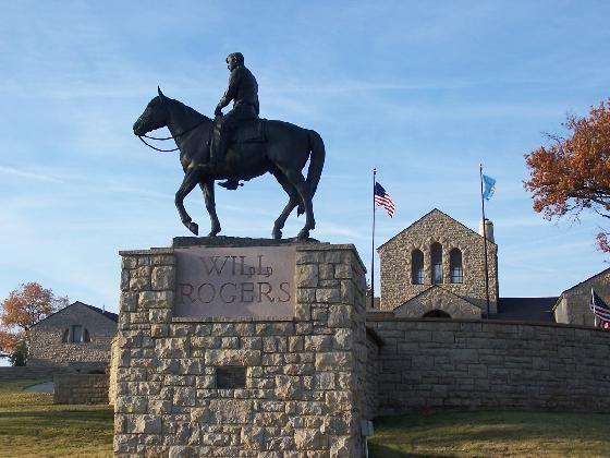 Will Rogers Memorial Museum Claremore Oklahoma Route 66
