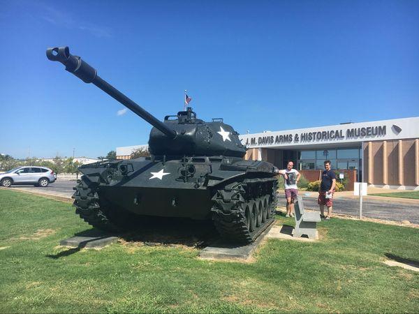 J.M. Davis Gun Museum Claremore Oklahoma Route 66