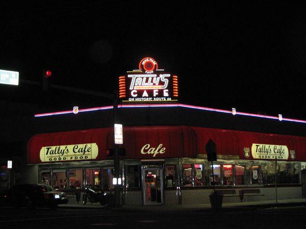 Tally's Good Food Café Tusla Oklahoma Route 66