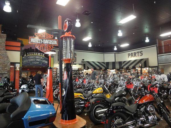 Route 66 Harley Davidson Tulsa Oklahoma