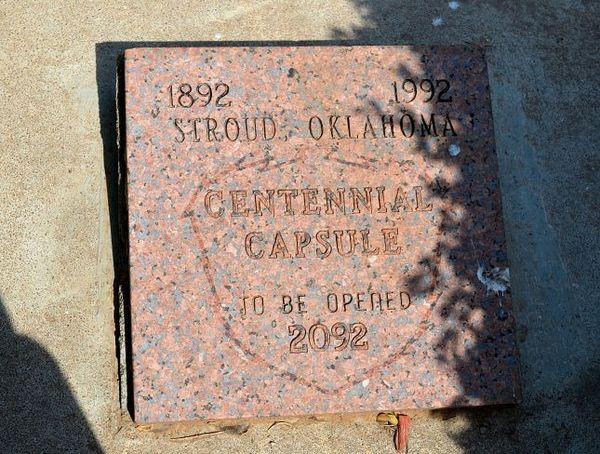 Capsule temporel Stroud Route 66 Oklahoma