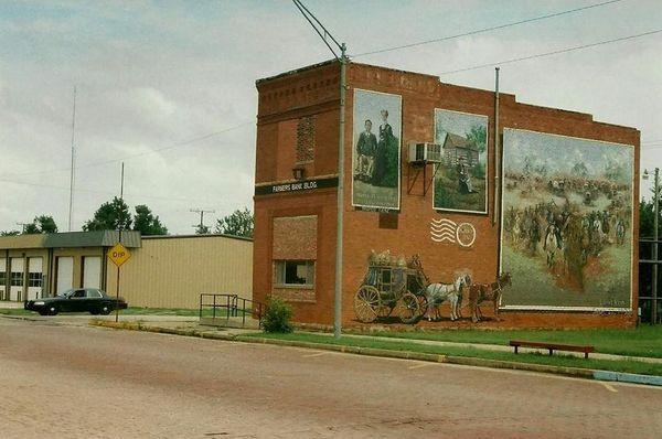 Mural Davenport Route 66 Oklahoma