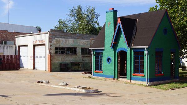 Phillips 66 Filling Station Chandler Route 66 Oklahoma