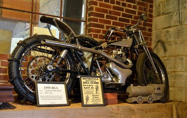 Motorcycle Museum Warwick Route 66 Oklahoma
