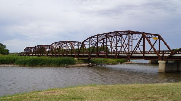 Lake Overholser Bridge Oklahoma City Route 66