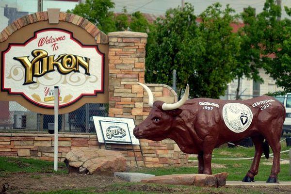 Welcome to Yukon Oklahoma Route 66