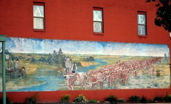 Mural Yukon Route 66 Oklahoma