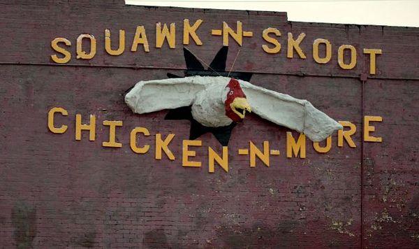 Mural El Reno Oklahoma Route 66