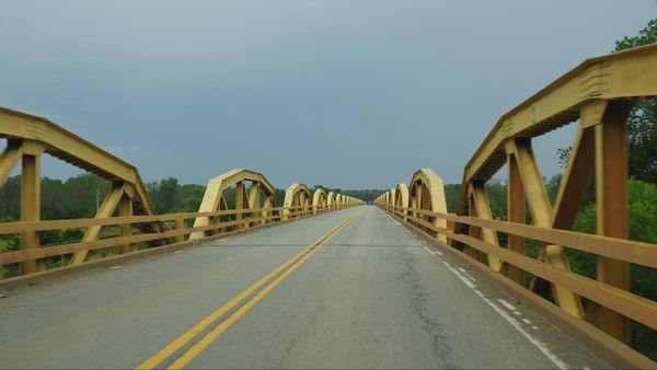 Pony Bridge El Reno Route 66 Oklahoma