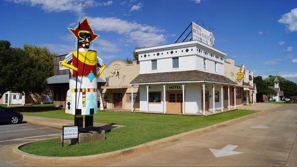 Elk City Route 66 Oklahoma