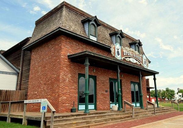 Opera House Elk City Oklahoma Route 66