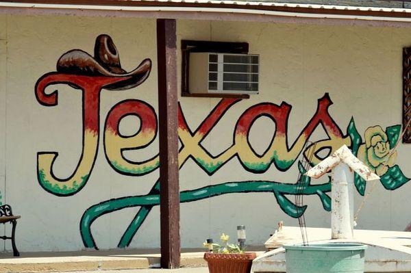 Mural Texas Route 66