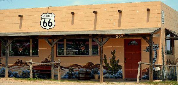 Shamrock Route 66 Texas