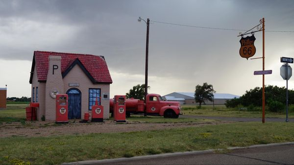 Station Philips 66 McLean Route 66 Texas