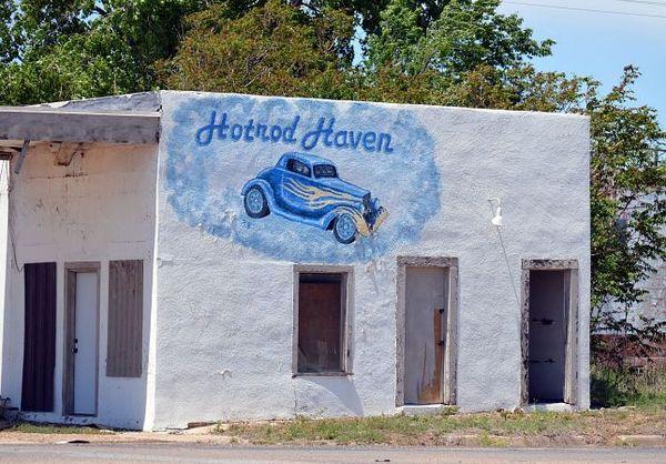 Mural McLean Route 66 Texas