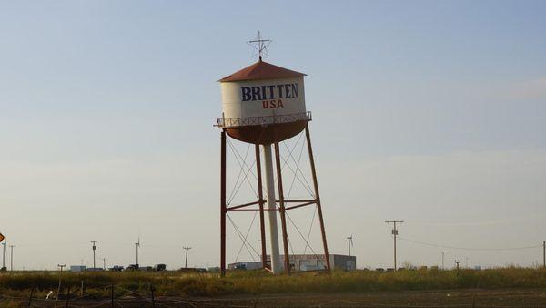 Château d'eau penché Groom Route 66 Texas