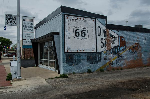 Amarillo Route 66 Texas
