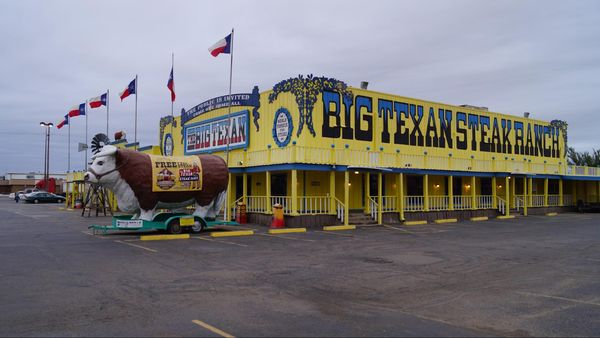 Big Texan Steak Ranch Amarillo Route 66 Texas