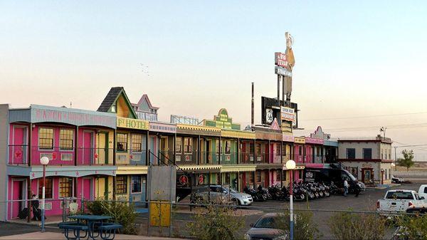 Big Texan Steak Ranch Motel Amarillo Route 66 Texas
