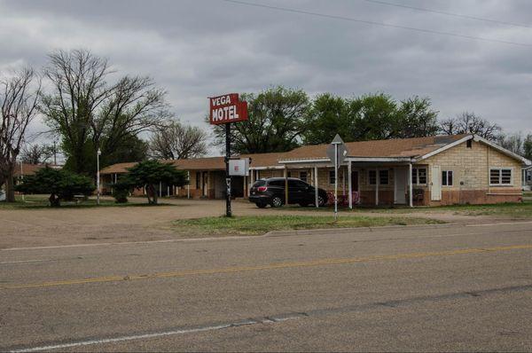 Vega Motel Route 66 Texas