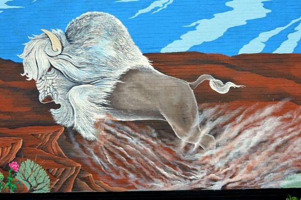 Mural Vega Route 66 Texas
