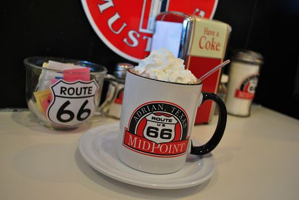 Mid-Point Cafe Adrian Route 66 Texas