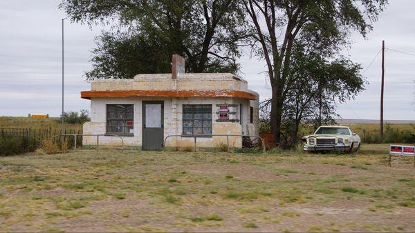 Little Juarez Café Glenrio Route 66 Texas