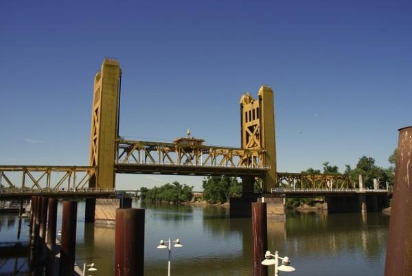 Tower Bridge Sacramento Californie