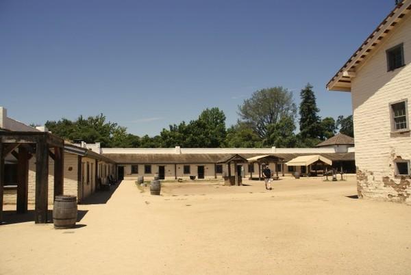 Sutter's Fort State Historic Park Sacramento
