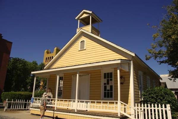 Old Sacramento Schoolhouse Museum Sacramento
