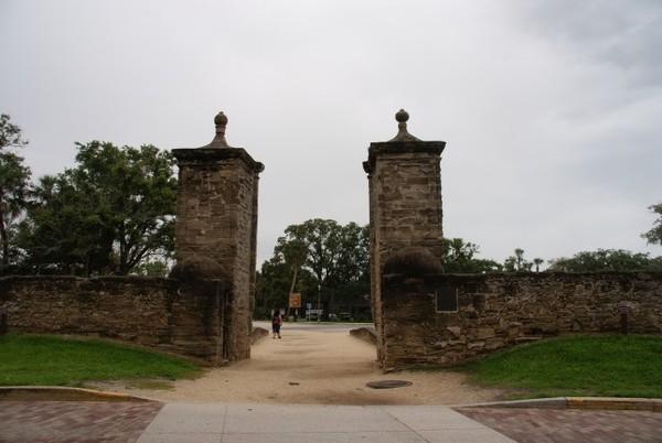 Old City Gates Saint Augustine