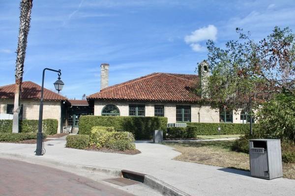 Le Visitor Center de St Augustine