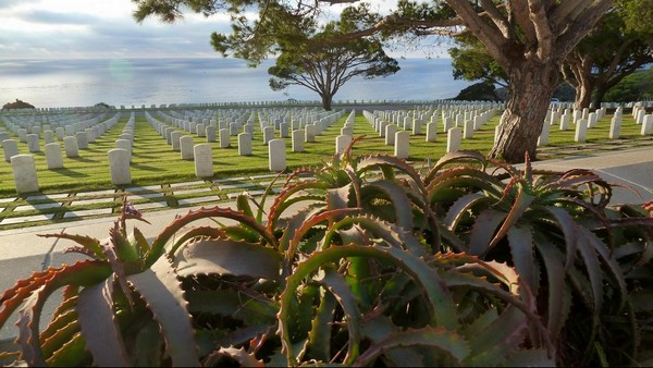 Fort Rosecrans National Cemetary Point Loma San Diego