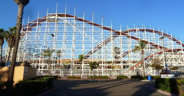 Giant Dipper Belmont Park San Diego